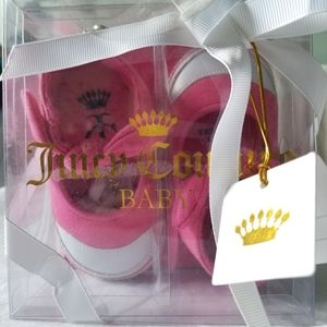 NWT Juicy Couture Baby Girl Mary Janes